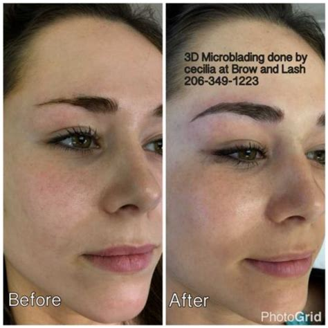 brow brow and lash eyebrow tattoo shaping waxing 3d
