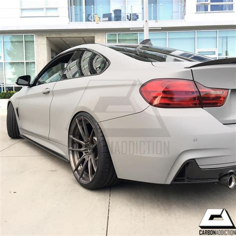 bmw style bmw f32 m performance style carbon side skirt extensions
