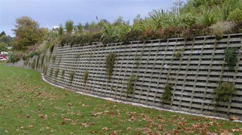 Timber Crib Retaining Walls by Timber Crib Wall Fw Nicol