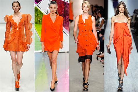 Fashion Orange repeat after me orange the many ways to wear orange this season ash said