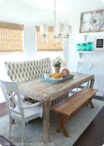 dining room table settee gallery
