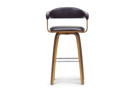 20 bayside bar stools modern furniture cheap quigley walnut and black modern counter stool affordable
