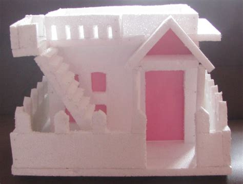 how to make thermocol bungalow house model school project thermocol houses joy studio design gallery best design