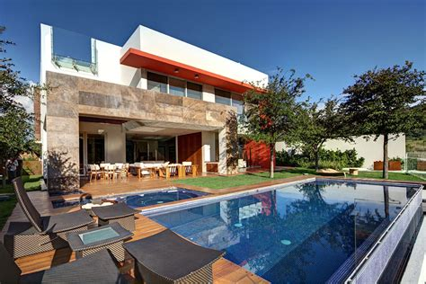 home design story pool modern family home in zapopan mexico