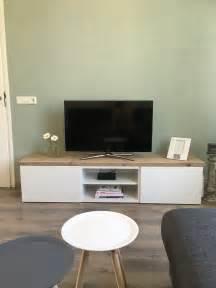 besta tv stand hack inspiratie ikea besta tv meubel steigerhout idee 235 n