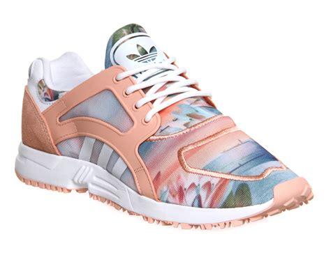 adidas racer lite dust pink print farm w trainers shoes ebay