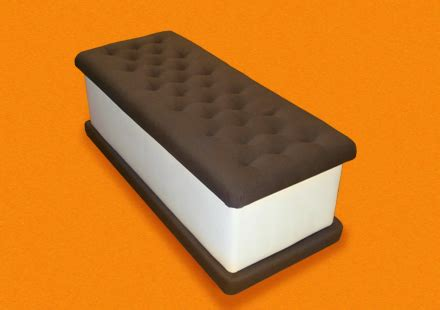 ice cream sandwich bench ice cream bench