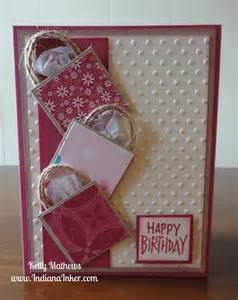 indiana inker shopping bag birthday card
