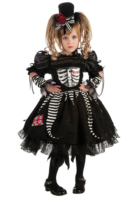halloween costumes girls girls bones costume