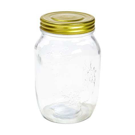 what is a jar 1050ml glass jar and lid kmart