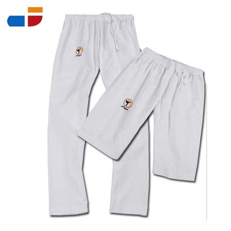 Celana Karate max 2016 kedatangan baru pakaian karate taekwondo dewasa celana xxxl hitam sabuk