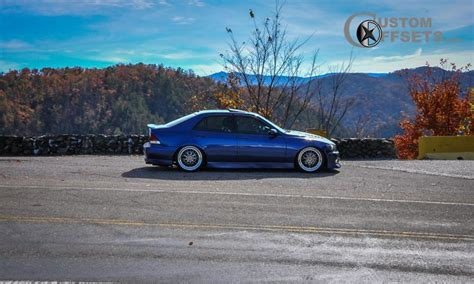 lexus is300 stance wheel offset 2002 lexus is 300 tucked dropped 3 custom rims a