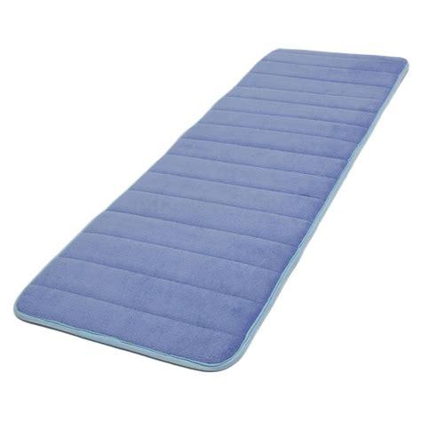 1 Memory Foam Mat - 120x40cm absorbent nonslip memory foam bedroom door floor