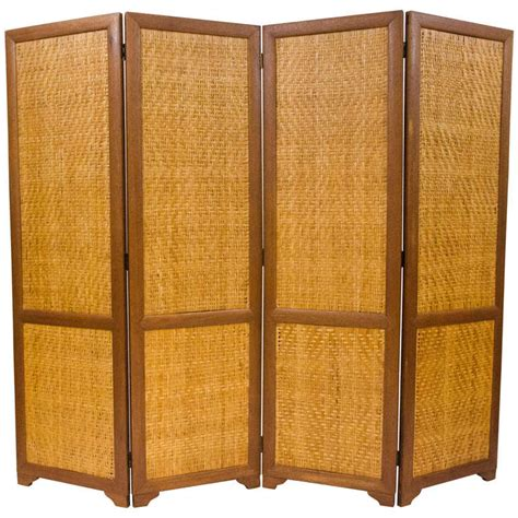 Mid Century Room Divider Mid Century Screen Room Divider Four Sections