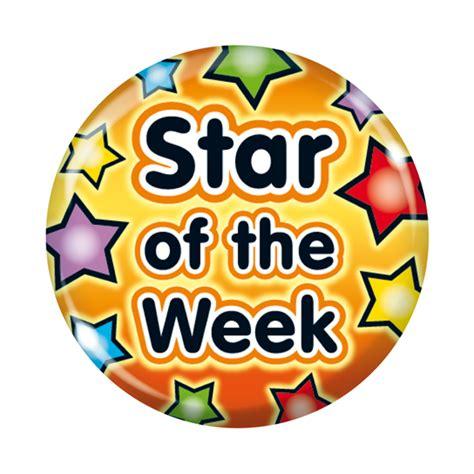 printable star of the week badge fridge magnets star of the week