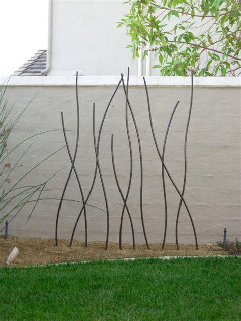 deco en fer pour jardin d 233 co jardin en fer a beton