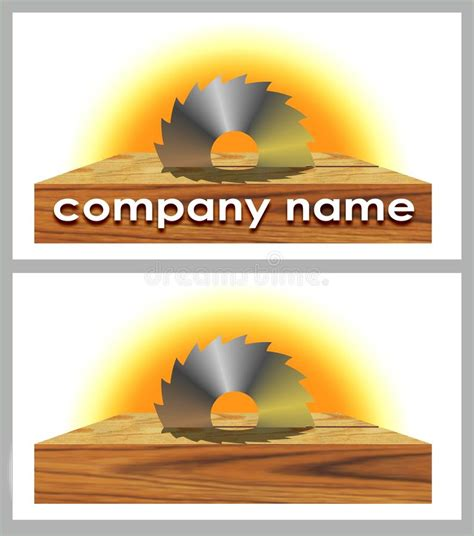 woodworks company logo of woodworking company stock images image 21085274