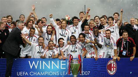 Uefa Chions League Badge 2003 2007 real madrid al ahly boca y los equipos con m 225 s t 237 tulos internacionales goal