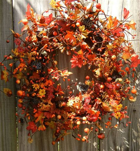 autumn wreaths fall wreath thanksgiving wreath sale ready to ship autumn wrea
