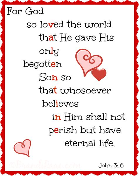 printable quotes about god for god so loved the world valentine for god so loved