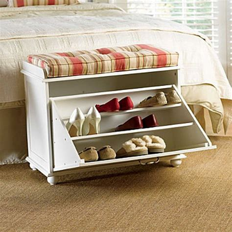 small shoe storage bench 15 creative diy storage benches hative