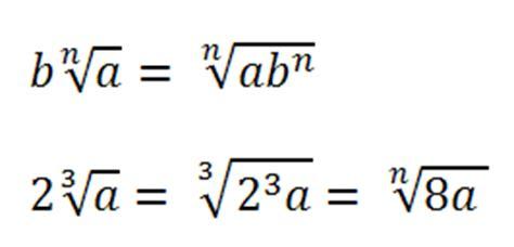 portare fuori radice matematica i radicali algebrici romoletto