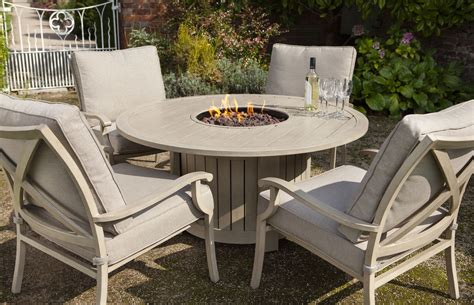 Portland Patio Furniture by Portland 4 Seater Lounge Set With Pit 163 1439