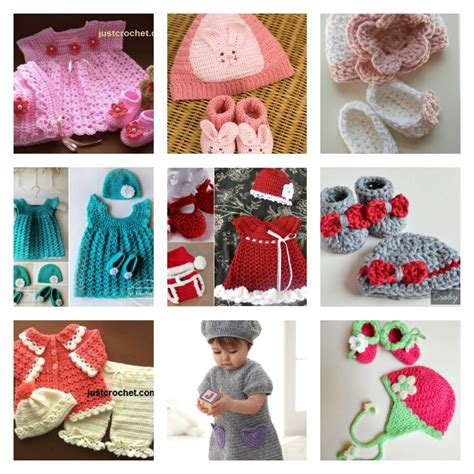 Handmade Things For Newborn Baby - 16 beautiful handmade baby gift sets with free crochet