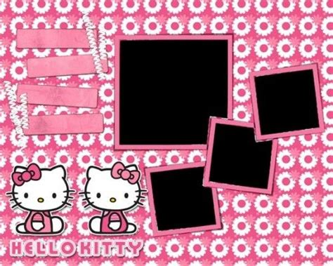 layout coc hello kitty 40 best images about scrapbooking hello kitty on