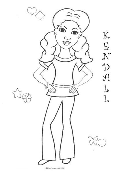 Coloring Pages For African American Girls Charmz Girl American Coloring Pages Isabelle Printable