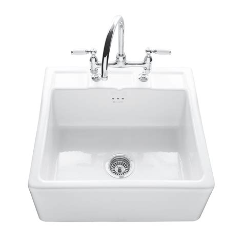Caple Butler 600 Kitchen Sink With Tap Ledge Sinks Taps Com Kitchen Sinks And Taps Review