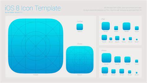Ios 8 Icon Iphone Ipad Itunes Template Welovesolo Ios App Templates