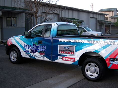 Paso Robles Ford by Our Work All Signs And Graphics