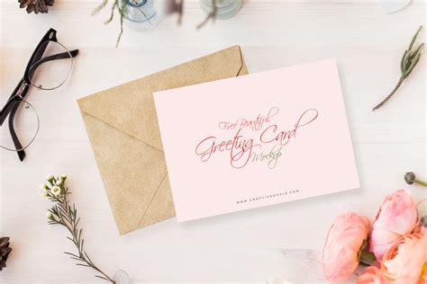 Wedding Invitation Mockup Free by Open Invitation Card Mockup Mockupworld