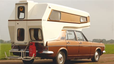 wacky campervan alternatives youve  heard  classic sports car