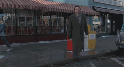 groundhog day gif bill murray gifs find on giphy