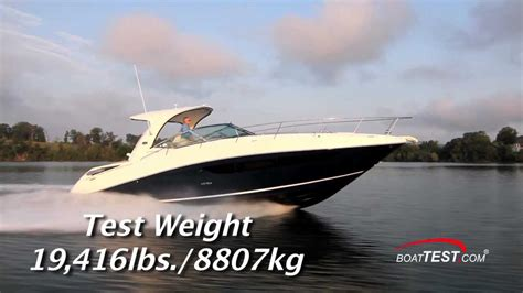 sea ray boat test videos sea ray 370 sundancer test 2014 by boattest youtube