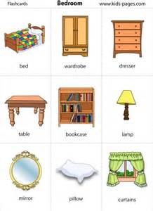 Bedroom Furniture Vocabulary by Tons Of Printable Flashcards Re Pinned By Pediastaff
