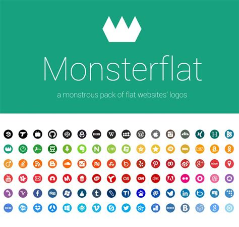 google design twitter monsterflat adobe css deviantart dribbble email