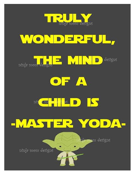 printable yoda quotes yoda quote digital print with grey background by