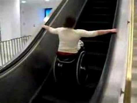 wheelchair escalator