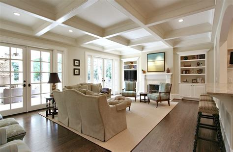 coffered ceiling lighting lighting coffered ceiling living room traditional with