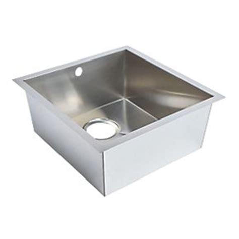 screwfix kitchen sinks undermount kitchen sink stainless steel 1 bowl 430 x 450mm sinks screwfix com