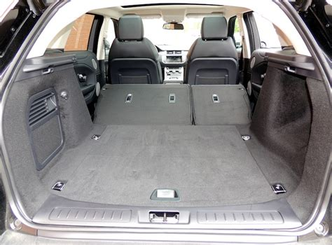 land rover discovery sport trunk space 2016 range rover evoque hse review wheels ca