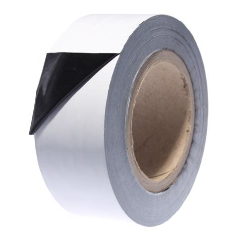 0803 Black & White Low Tack Protection Tape