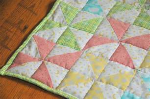 striped pinwheel baby quilt and free pattern kiku corner