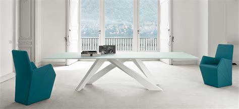tavolo big table bonaldo big table tavolo gambe in acciaio verniciato bonaldo