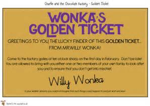 Willy Wonka Golden Ticket Template by 4 Best Images Of Free Printable Golden Ticket Template