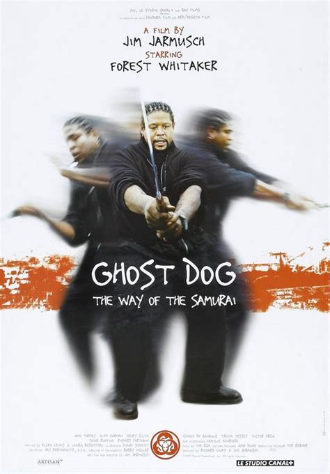forest whitaker rza ghost dog the way of the samurai movie posters