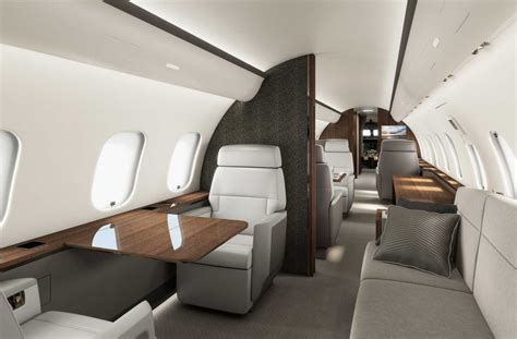 Bombardier launches new business jet cabin